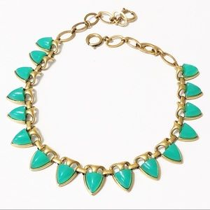 Stella & Dot • Sea Green Lottie Necklace